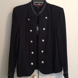 New Tommy Hilfiger Military Style Jacket